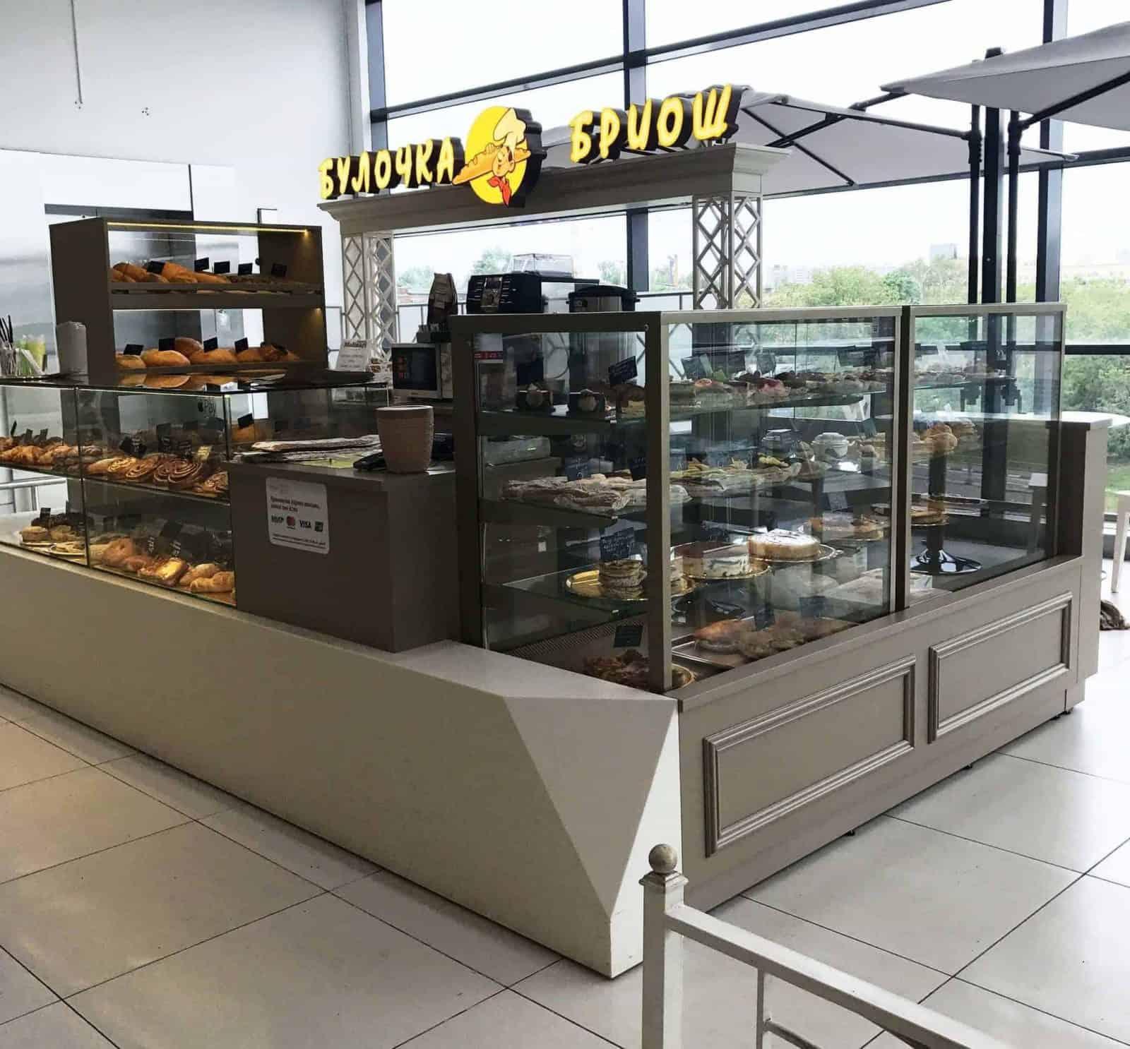 Пекарня в торговом центре