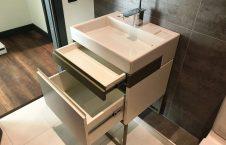 мебель на заказ для ванной тумба