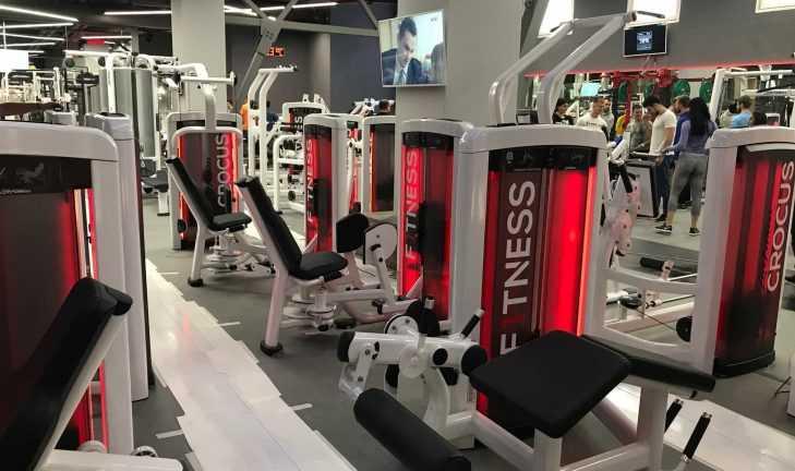 Открытие фитнес-клуба премиум-класса в TРК VEGAS Крокус Сити