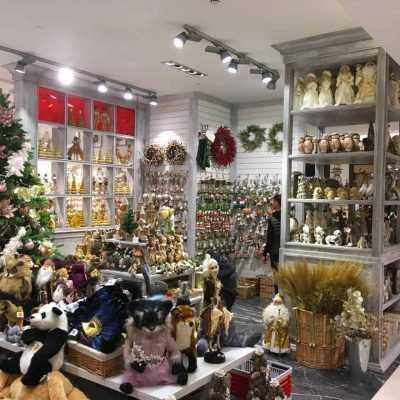 Стеллажи для магазина ЦУМ Новогодний базар