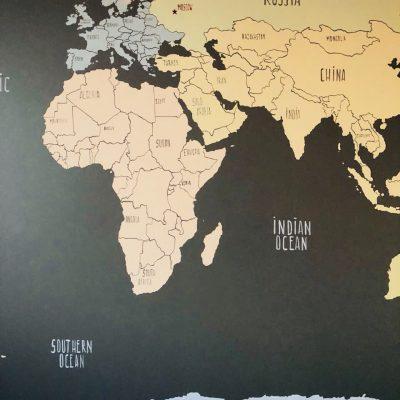 Карта мира для школьника
