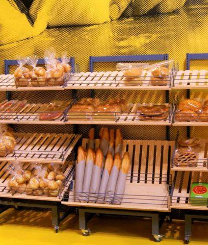 Хлебный стеллаж фанера