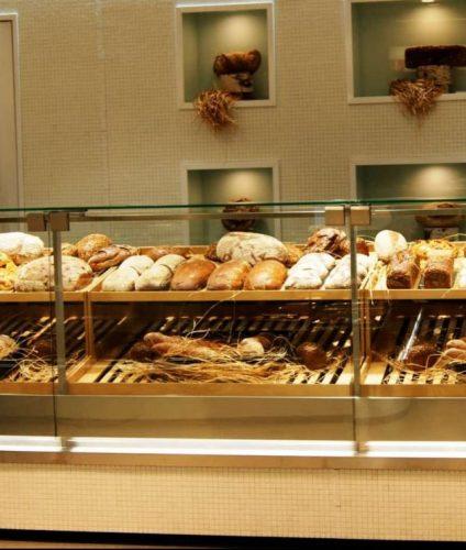 Витрина хлебная неохлаждаемая