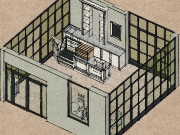 Экспресс-дизайн мебели для кафе