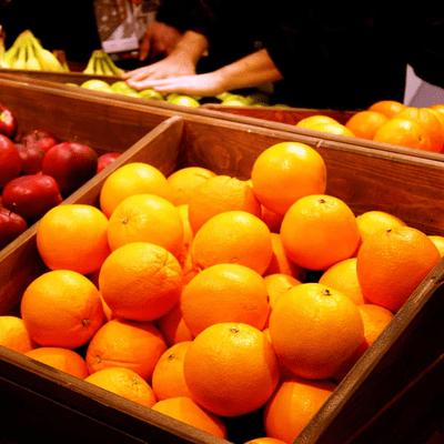 Торговая мебель для овощей