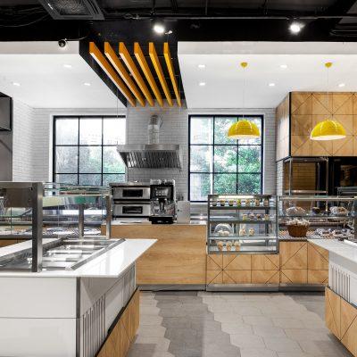 Дизайн хлебного отдела супермаркета