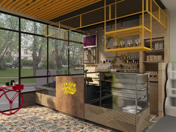 Дизайн кафе To Go