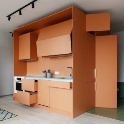Модульная кухня в апартаменты